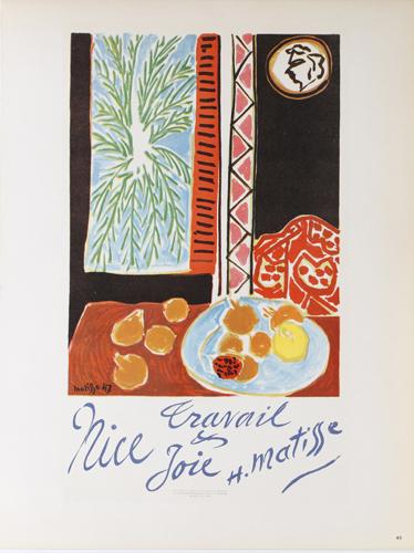 Henri Matisse - Lithographie